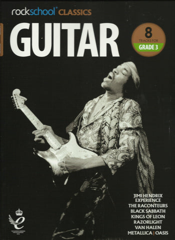 rockschool classics grade 3 free choice guitar book