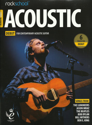 Rockschool Acoustic Guitar Debut Grade NEW 2019 Edition