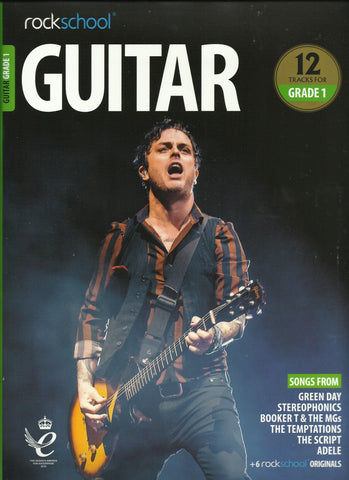 rockschool guitar grade 1 book front