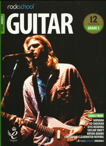 rockschool grade 3 guitar book front