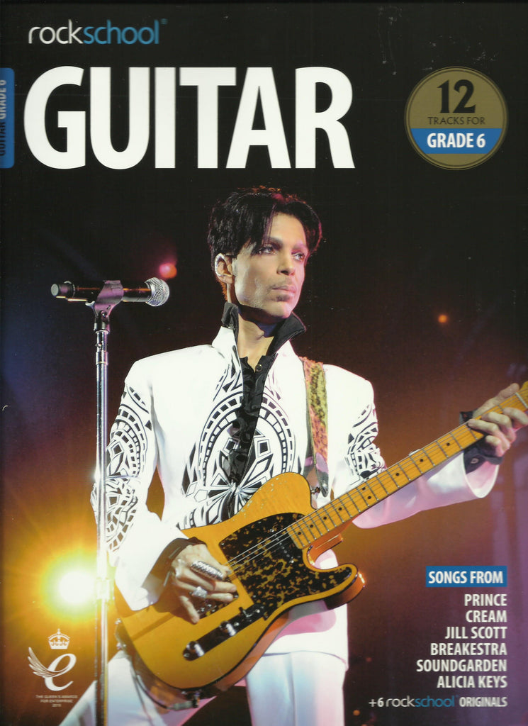 RSL Rockschool Exams Guitar Grade 6 2018 syllabus Book Front
