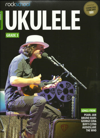 Rockschool Ukulele Grade 3 Three Book