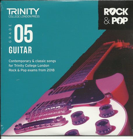 Trinity Guitar Grade 5 Rock and Pop 2018 Exam Backing Tracks CD