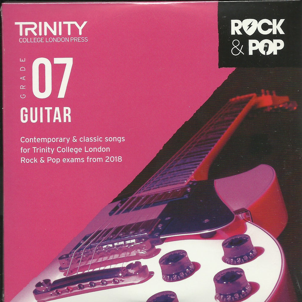 Trinity Guitar Grade 7 Rock and Pop 2018 Exam Backing Tracks CD