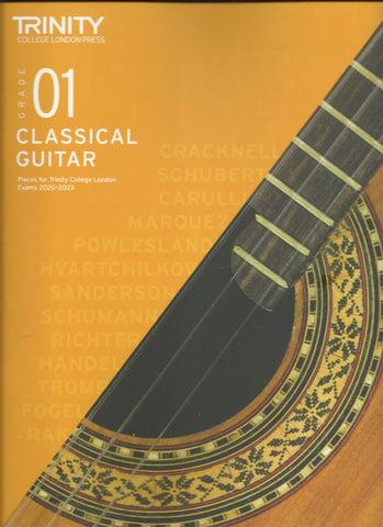 Trinity Classical Guitar Grade 1 Book 2020 Version