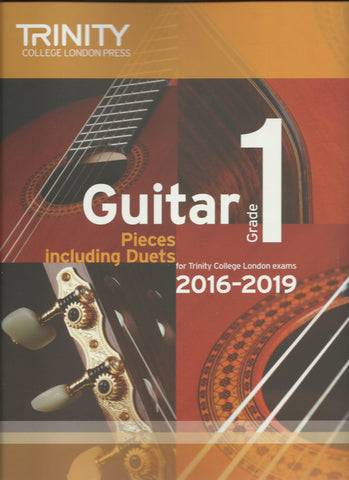 trinity classical guitar exam grade 1 book