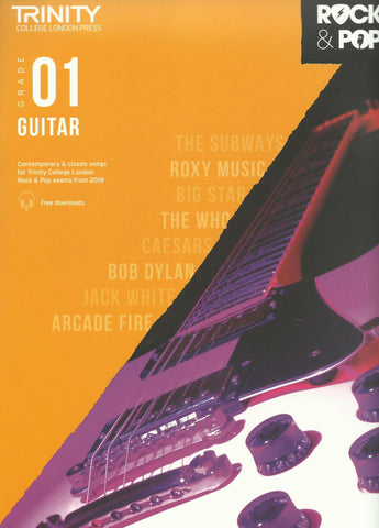Trinity Guitar Grade 1 Rock and Pop 2018 Exam Book