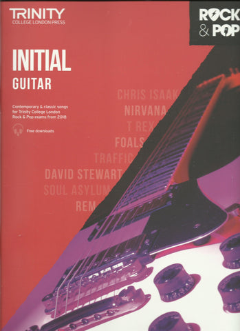 Trinity rock pop guitar grade initial