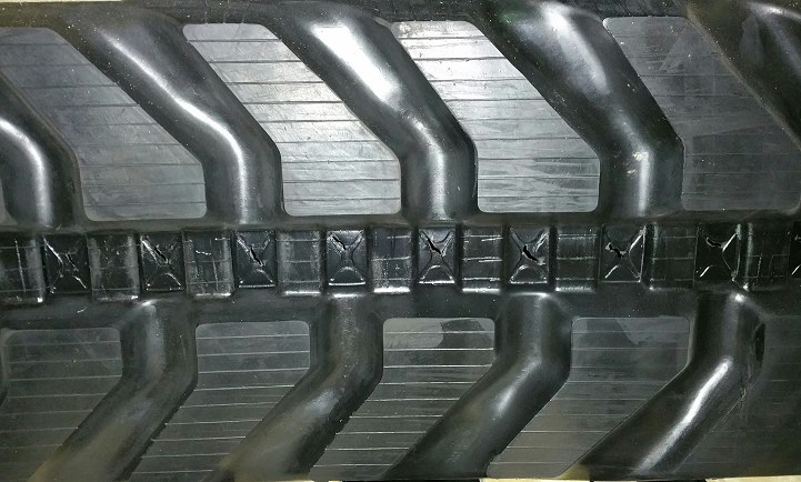 450x81x78 (450x78x81) Rubber Tracks, Narrow Guide For JCB