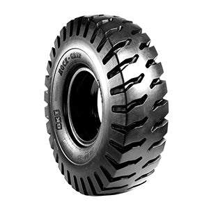 18.00-25 BKT Rock Grip E-4 40-Ply Rating (PR) TL Tire 94015528 (18.00X25)