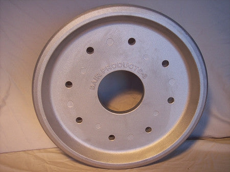 "BW3 Bair 14"" Solid Front/Rear Idler Alloy Wheel, Cat 267,277, 277B, 287, 287B Series Multi-Terrain Loader"