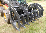 "72"" Bradco Root Rake Assembly For Skid Steer Loaders 102140"