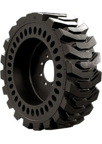 33x6x11 (12-16.5) Brawler Solidflex Molded Skid Steer Tire & Wheel Assembly, 20003987-3988 (L/R)