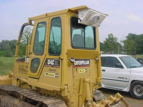 Enclosed ROPS Cab For Cat D3B, D3C, D4C, D5C Dozers, Diamond 75F