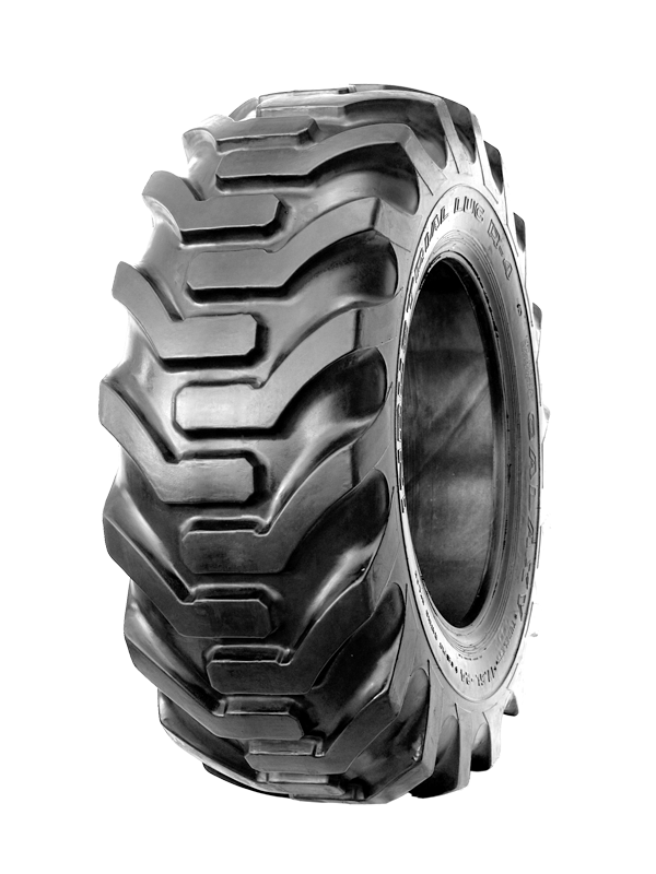 12.5/80-18 (320/80-18) Galaxy Super Industrial Lug R-4 12-Ply TL Backhoe Tire 201289