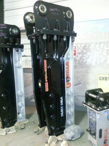GXS135 5000 Ft. Lb. Gorilla Hydraulic Hammer (Rock Breaker)