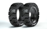 14-17.5 (36x14-20) Solid Tire & Wheel Assembly, Maxam MS706 L5, Traction Non-Aperture, 53525A1