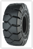 17.5-25 Solid Tire/Wheel Assembly, Maxam MS708 Traction (25-14) Aperture, WA53200