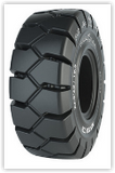 17.5-25 Solid Tire/Wheel Assembly, Maxam MS708 Traction (25-14) Non-Aperture, WA53300