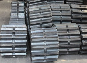 Two Rubber Tracks, 800x150x56 (800x56x150), Morooka MK-250, MK-300, MK-300S