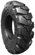 13.00-24 Solid Telehandler Tire & Wheel Assembly, Power Trax 13.00X24