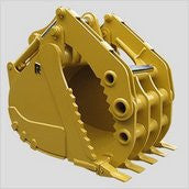 "54"" Krypto Klaw Rockland Bucket, 2.2cy, for Cat 345 Series Excavator"