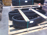 342X18 Rubber Tracks, Cedarapids CR561, CR562, Bomag Paver (Smooth Tread)