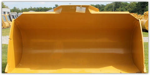 9.00 Cubic Yard Volvo L250G Bucket, Good Used (With BOCE, Plated)