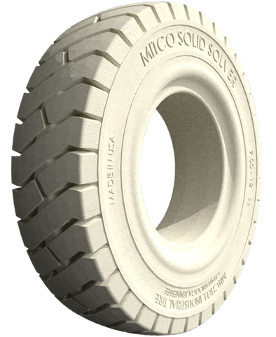 700x12/5.00 Resilient Non-Marking (NM) Lug Tire, Solid Solver EF Click Type 26401102