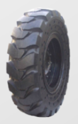 14.00-24 Solid Telehandler Tire & Wheel Assembly, Power Trax 14.00X24