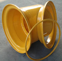 WA25X22-3 Wheel Assembly, Three Piece, For Heavy Equipment