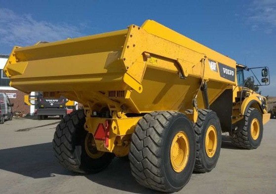 Tailgates, Volvo A40D Articulated Dump Truck Tailgate Group