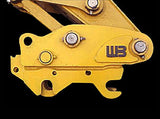 SQC-EX12C Werk-Brau Mechanical Excavator Coupler, 24000-33000 Lb Weight Class Machines, Spring Loaded