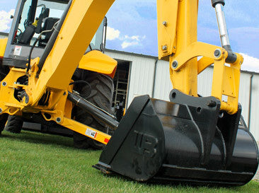 "1MNDCG48 Werk-Brau 48"" Mini-Excavator Ditching/Grading Bucket, (5000-11000 Lb) Weight Class Machines"