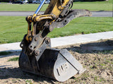 "1MNDCG36 Werk-Brau 36"" Mini-Ex & Backhoe Ditching/Grading Bucket, (5000-11000 Lb) Weight Class Machines"