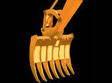 "WBER36 Werk-Brau 36"" Mini-Excavator Grading Rake, (7500-14000 Lb) Weight Class Machines"