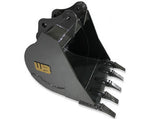 "Werk-Brau 12"" Mini-Excavator Bucket, (2150-4900 Lb) Weight Class Machines, 76MNHD12"