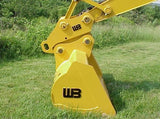 SQC-EX12 Werk-Brau Mechanical Excavator Coupler, 24000-33000 Lb Weight Class Machines, Spring Loaded