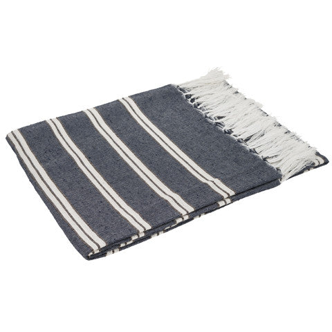 Happy Multi Purpose Throw Navy