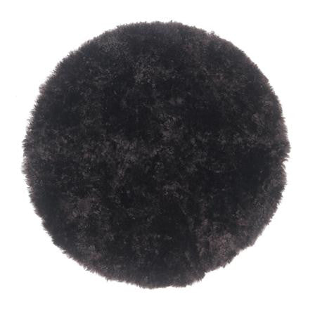 Anthracite Curly Sheepskin Seat Pad