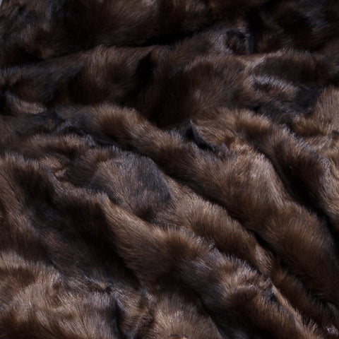 Faux Fur Throw Mink 170 x 240