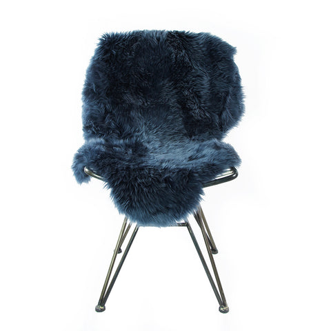 Silky Sheepskin Dark Navy