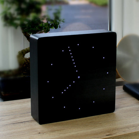 Analogue Click Clock Black