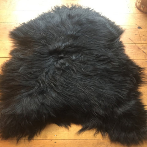 Natural Icelandic Sheepskin, Blacky/Brown