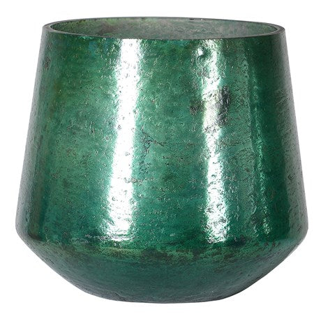 Antique Green Candle Holder