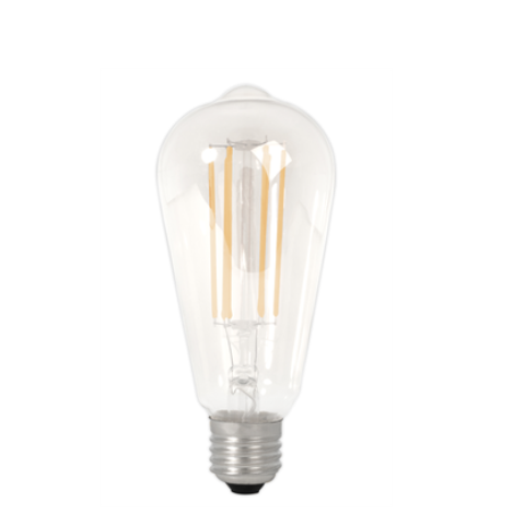 Filament E27 LED Rustic Shape Bulb Clear (Dimmable)