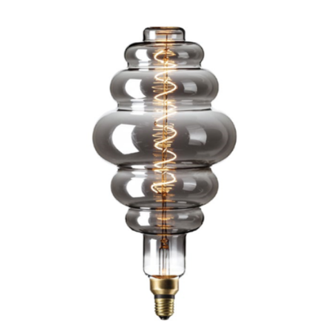 Filament Spiral E27 LED Giant Paris Bulb Titanium (Dimmable)