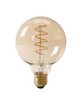 Filament E27 Spiral LED Medium Globe Lamp Gold(Dimmable)