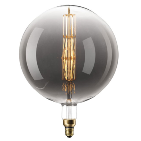 Filament E27 LED Giant Manhattan Bulb Titanium (Dimmable)