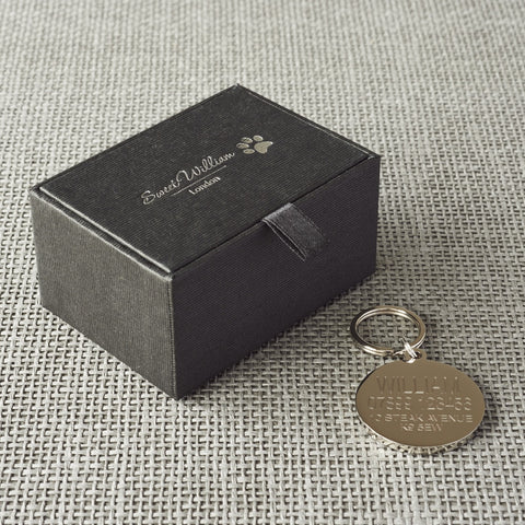Pug Dog Tag In Gift Box